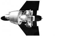 航空涡喷发动机 UTD80-300JET